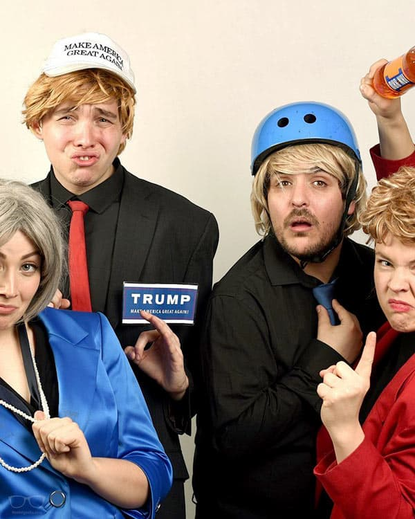 Newsrevue comedy act in London