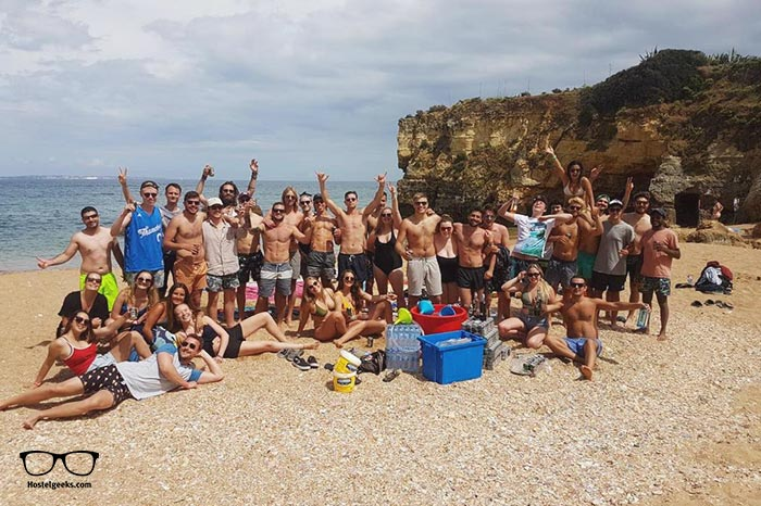 Rising Cock Party Hostel is one of the best party hostels in Lagos, Portugal