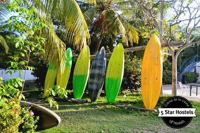 Secreto Hostel in Rosario Island is a brand new 5 star hostel in Colombia