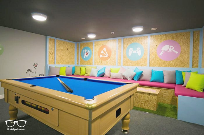 Sleep Eat Love is one of the best hostels in Liverpool, UK