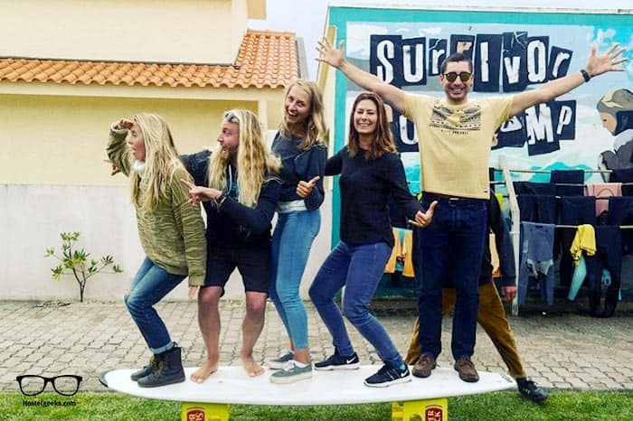 Best Surf Hostels in Portugal - Surfivor Porto Surf School in Porto