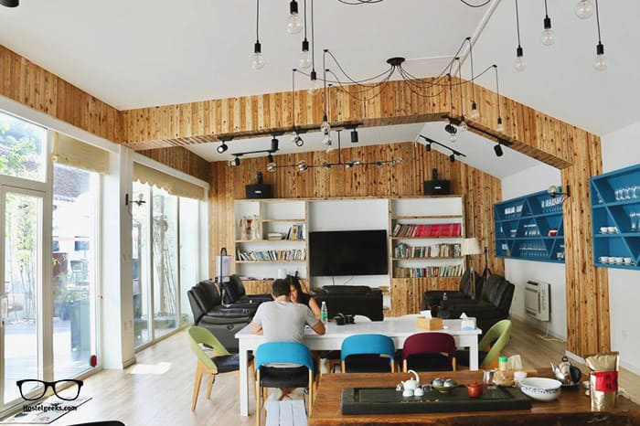 The Great Wall Box House is one of the best hostels in Beijing, China