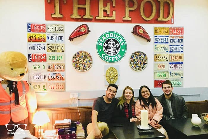 The Liverpool Pod is one of the best hostels in Liverpool, UK