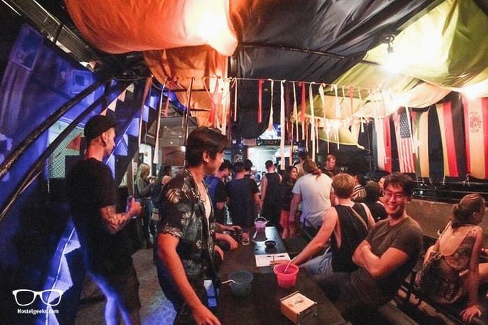 The Lodge Yangon Hostel is one of the best party hostels in Yangon, Myanmar
