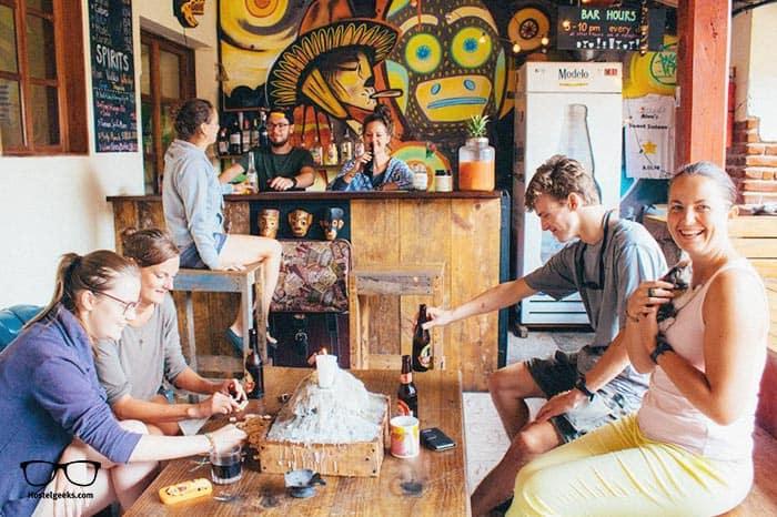 Three Monkeys Hostel is one of the best party hostels in Antigua Guatemala