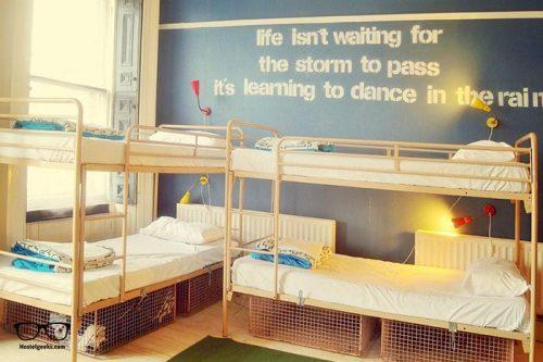 Vagabonds is one of the best hostels in Belfast, Northern Ireland UK