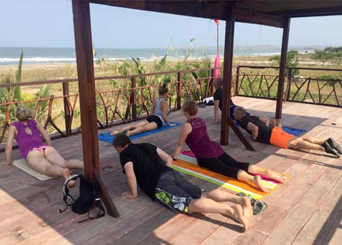 Yoga and Kite Surfing with Zion Beach Hostel