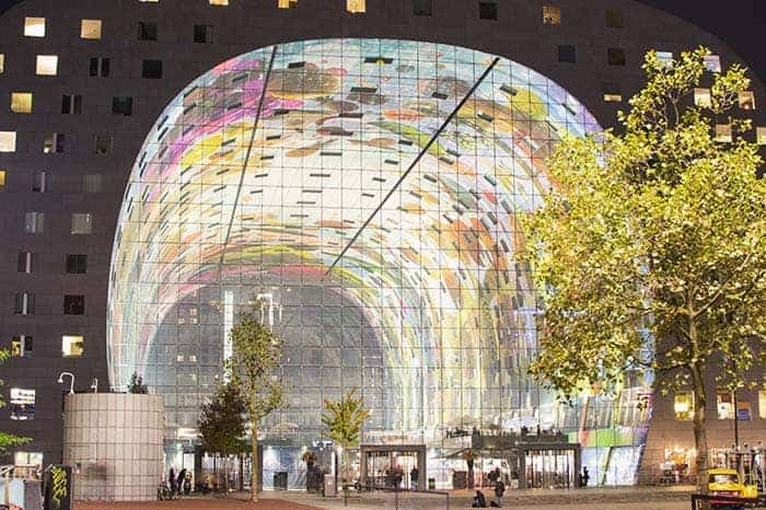 Visit the Markthal in Rotterdam