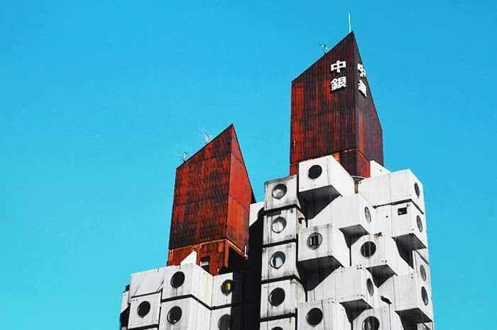 Nakagin Capsule Tower, an unusual experience in Tokyo