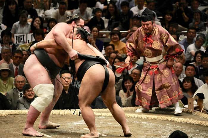 Sumo Wrestling in Tokyo, Fun things to do in Tokyo, Japan.