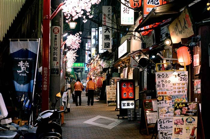 Yokocho, Tokyo's old school alleyways, 27 fun things to do in Tokyo, Japan