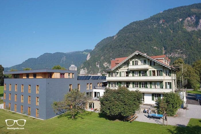 Backpackers Villa Sonnenhof is one of the best hostels in Interlaken, Switzerland