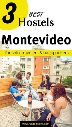 A complete guide and overview to the best hostels in Montevideo, Uruguay for solo travelers & backpackers