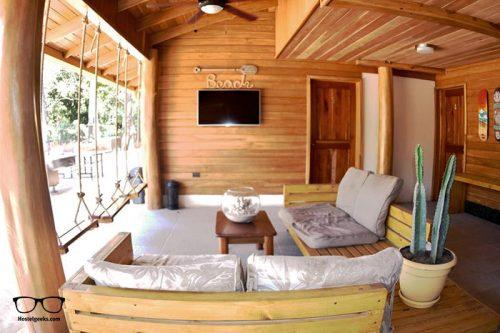 Casa Aura Beachfront Premium Hostel is one of the best hostels in Tamarindo, Costa Rica