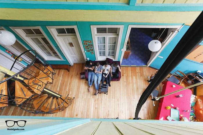 Casa Verde Limon is one of the best hostels in Valparaiso, Chile