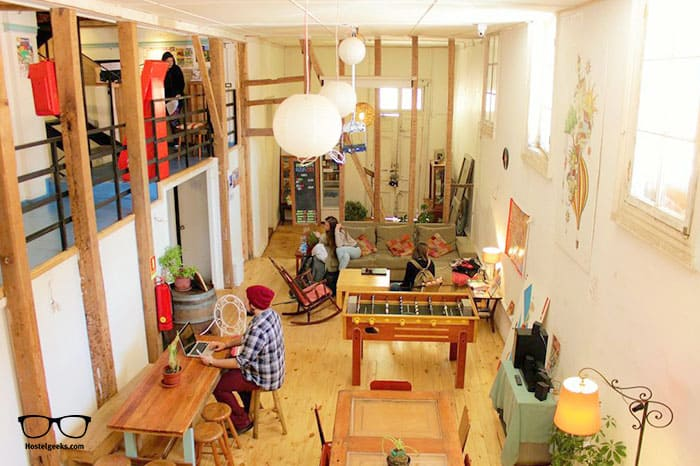 Casa Volante Hostal is one of the best hostels in Valparaiso, Chile