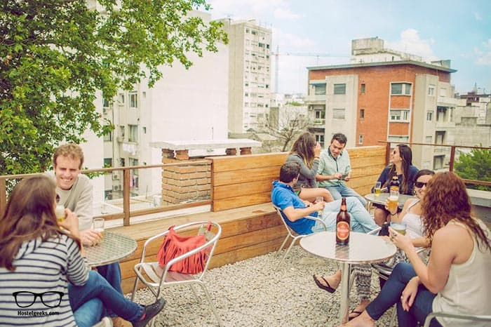 Che Lagarto Hostel is one of the best hostels in Montevideo, Argentina