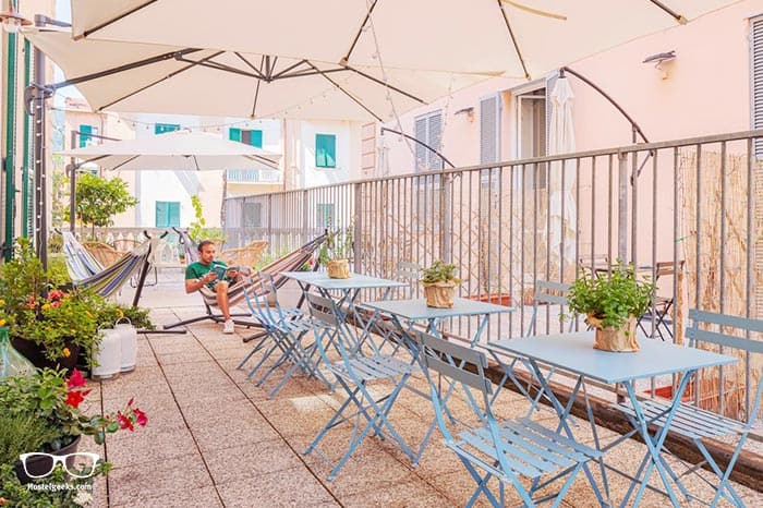 Costello is one of the best hostels in Cinque Terre, Italy