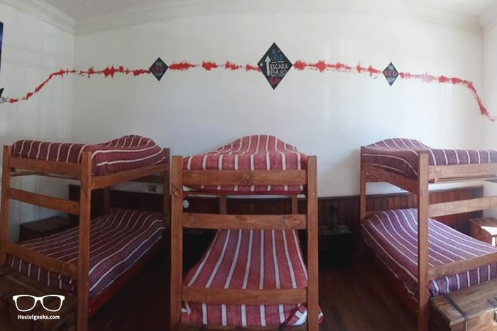 Escarabajo Hostel is one of the best hostels in Valparaiso for solo travellers