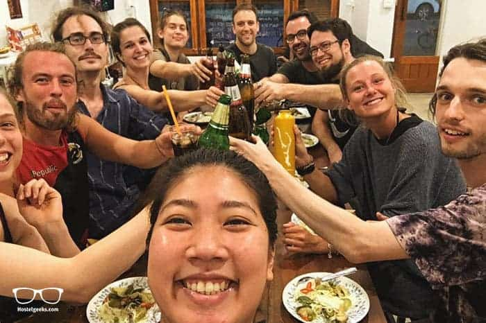 Get Hi Hostel is one of the best party hostels in Chiang Rai, Thailand