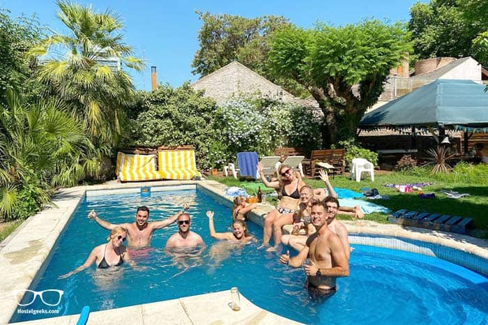 Gorilla Hostel is one of the best party hostels in Mendoza, Argentina