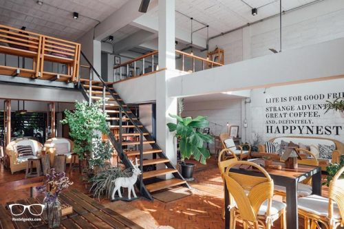 Happynest Hostel is one of the best hostels in Chiang Rai, Thailand