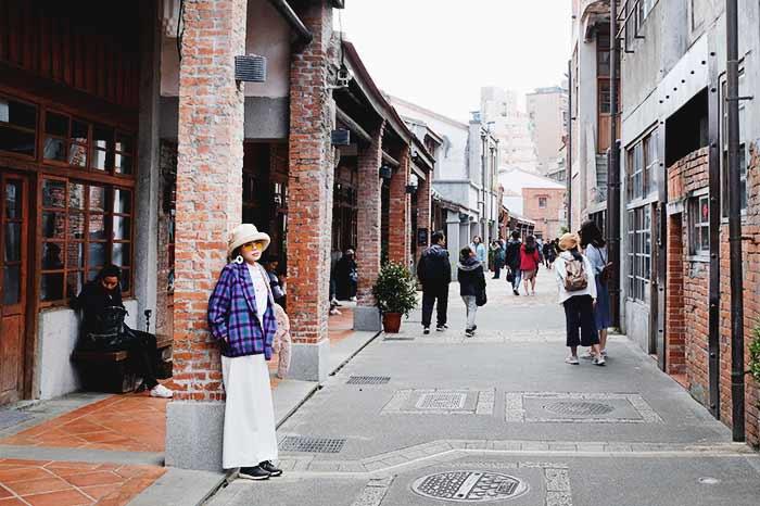 Taipei's historical block
