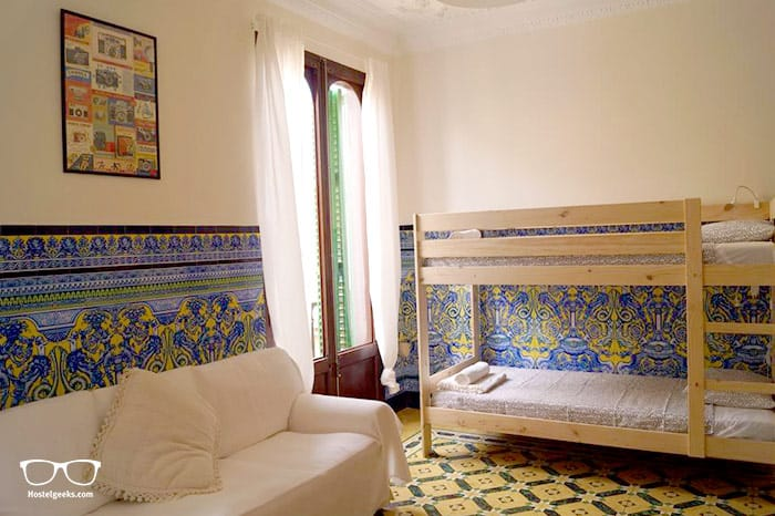 Hostel Pura Vida is one of the best hostels in Mallorca, Spain