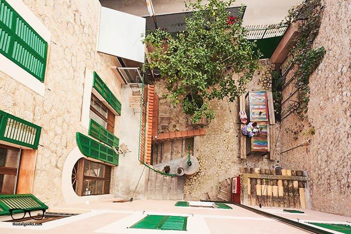 Hostel Soller is one of the best hostels in Mallorca, Spain