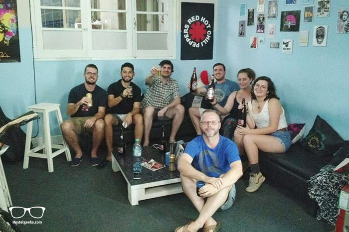 Hostel Windmill is one of the best hostels in Mendoza, Argentina