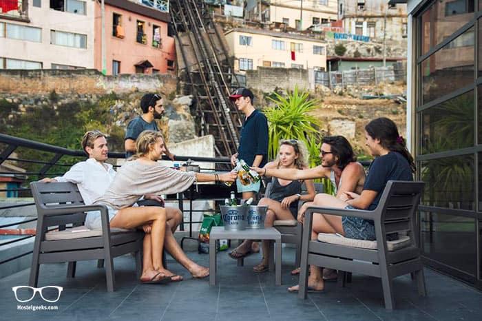 La Joya Hostel is one of the best hostels in Valparaiso for solo travellers