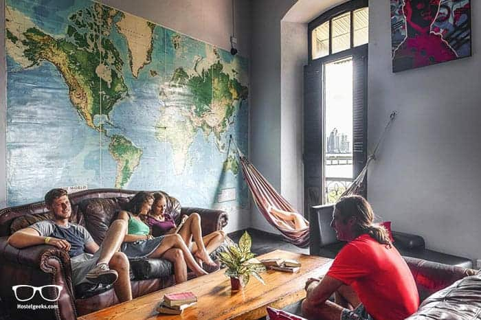 Luna's Castle Hostel is one of the best hostels in Panama City, Panama
