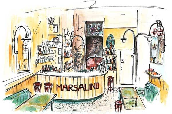 Marsalino is more for students and hipsters