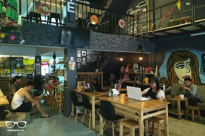 Norn Nung Len Cafe & Hostel is one of the best hostels in Chiang Rai, Thailand