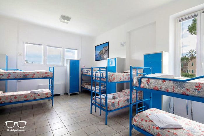 Ostello Corniglia is one of the best hostels in Cinque Terre, Italy