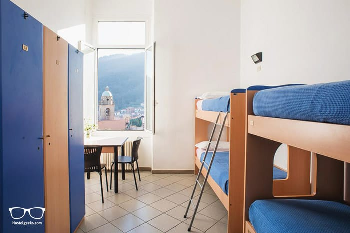 Ostello Tramonti is one of the best hostels in Cinque Terre, Italy