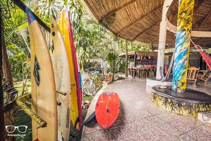 Pura Vida Hostel is one of the best hostels in Tamarindo, Costa Rica