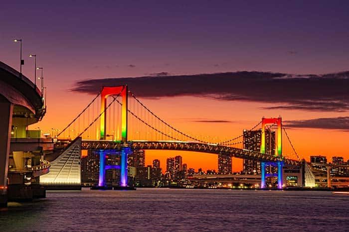 rainbow bridge, 27 fun things to do in Tokyo, Japan