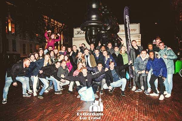 Party all night and join the Rotterdam Bar Crawl