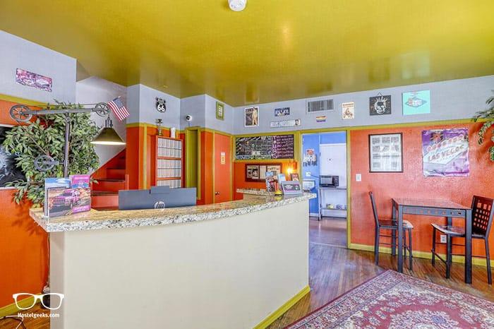 Sin City Hostel is one of the best hostels in Las Vegas, Nevada USA
