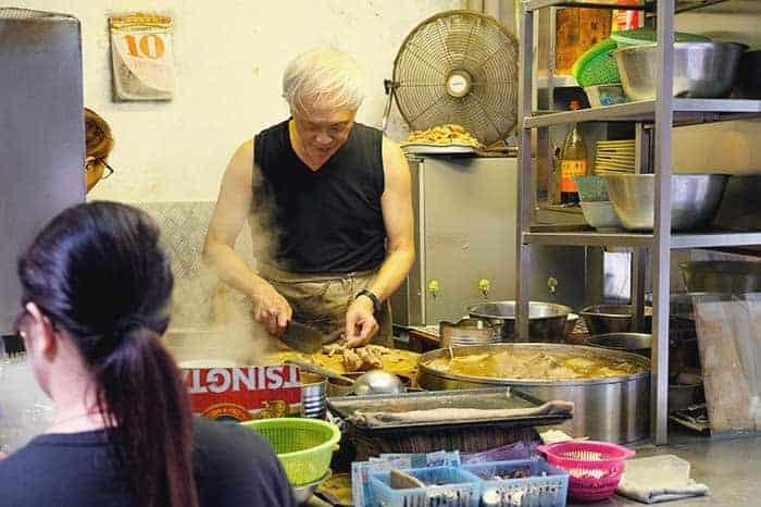 Street food in Hong kong