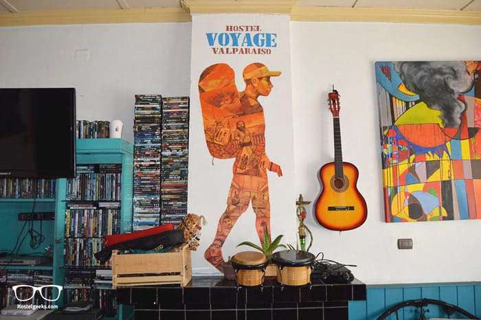 Voyage Hostel is one of the best hostels in Valparaiso, Chile