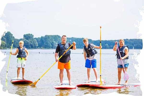 If you're fo adventure, try out watersports in Rotterdam