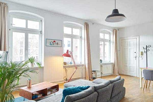 Airbnb in Berlin, central location
