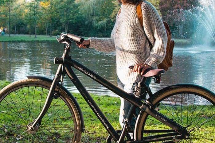 Rent a bike and bike around