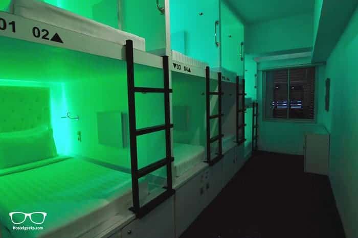 Capsule Hotel Jakarta is one of the best hostels in Jakarta, Indonesia