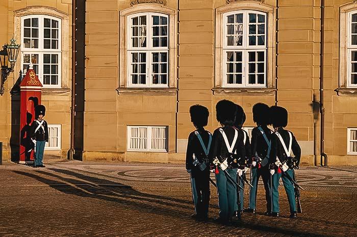 Change of guard in Copenhagen
