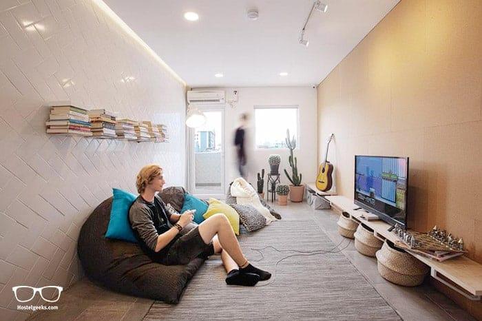Konko Hostel is one of the best hostels in Jakarta for solo travellers
