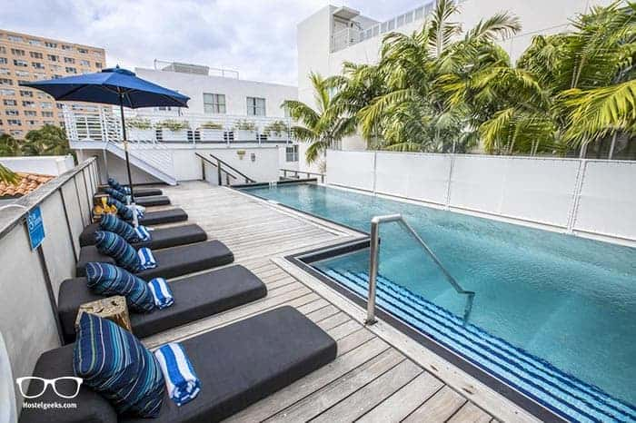 Posh South Beach Hostel is one of the best hostels in Miami, USA