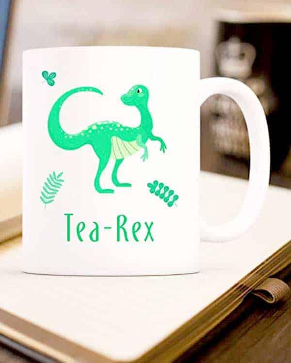Tea rex cup